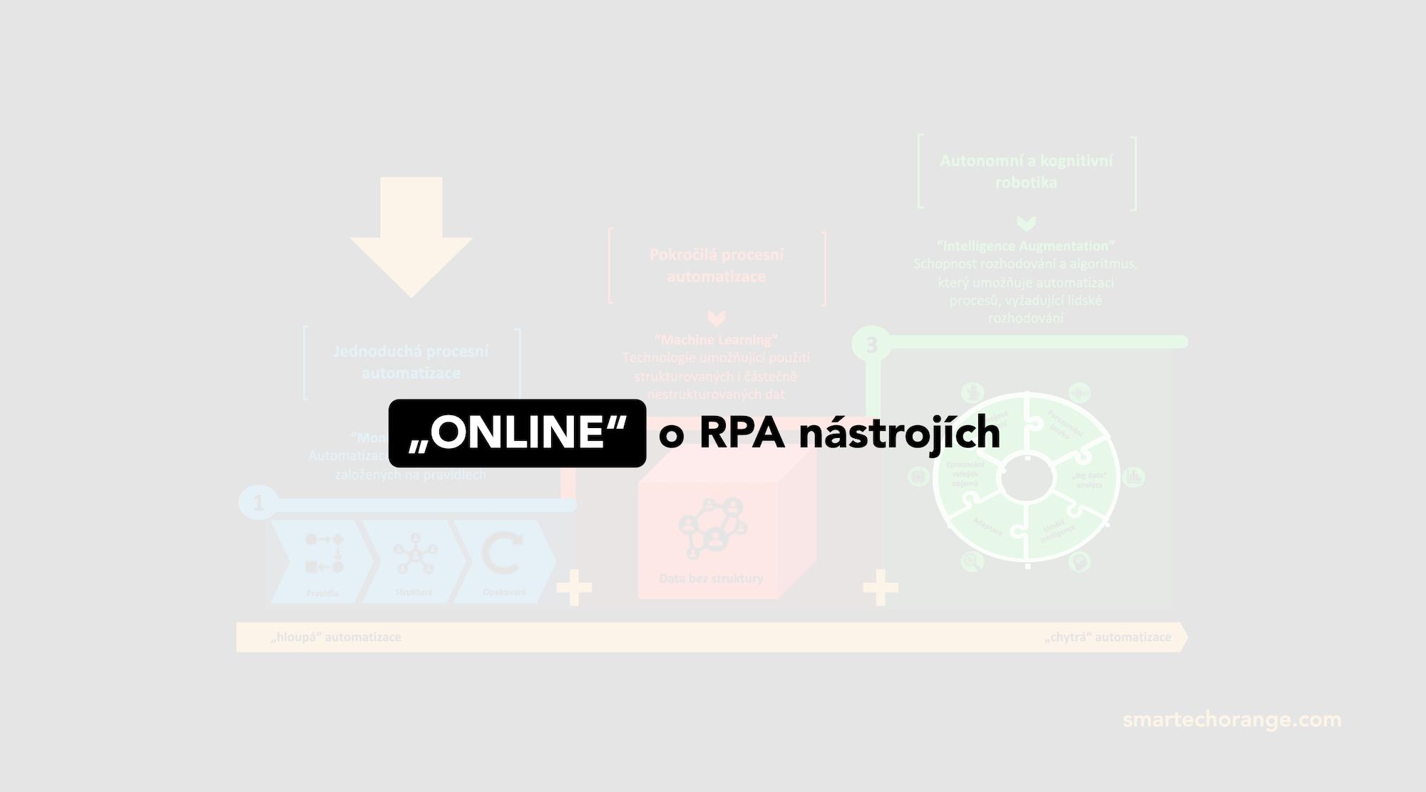 Webinář o RPA nástrojích